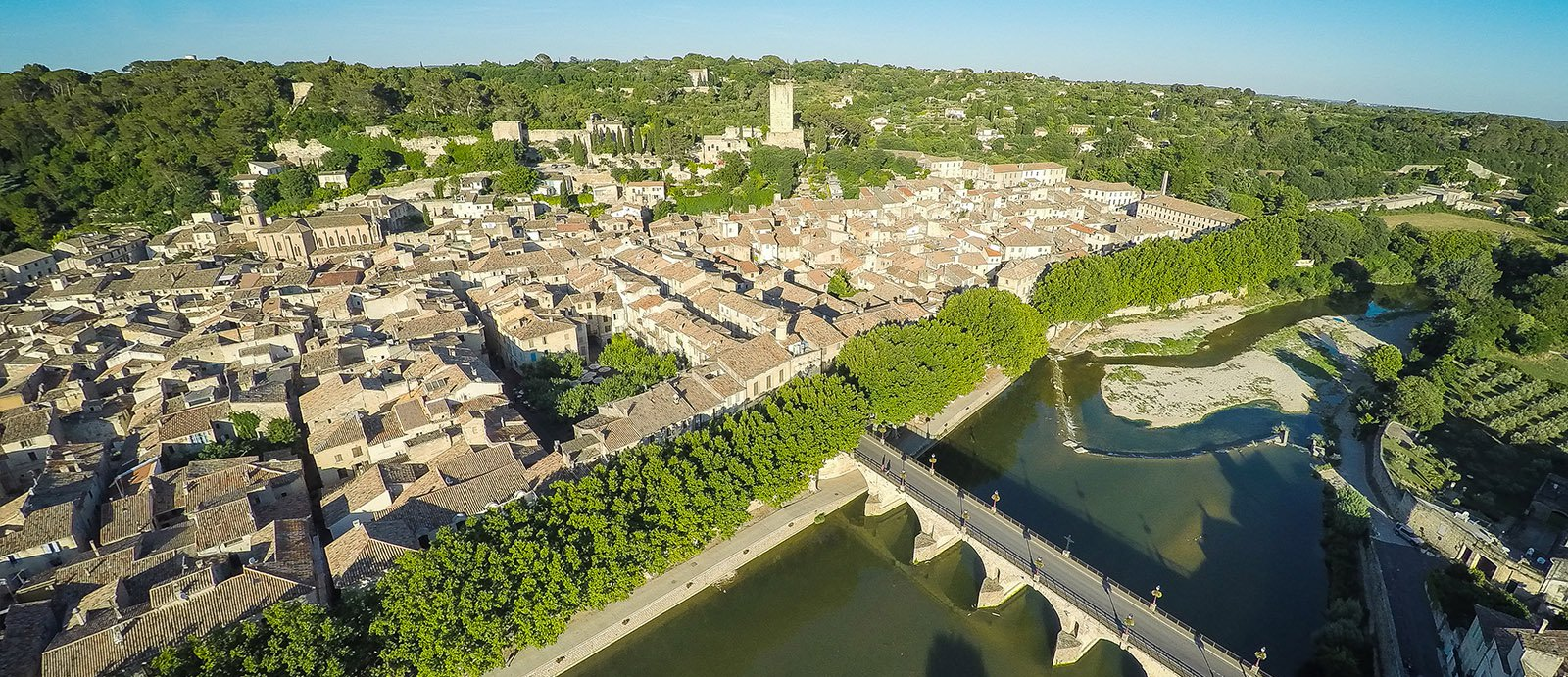 Sommières, a living and lively medieval town